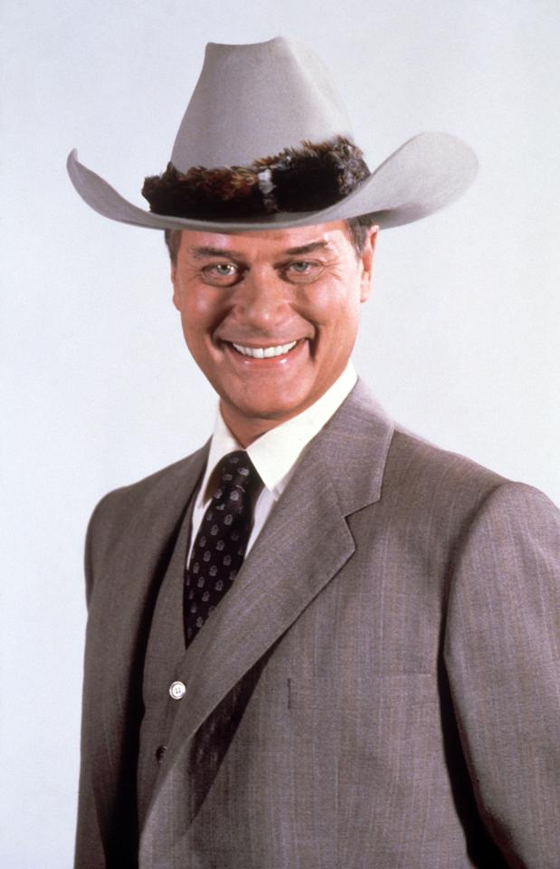 1985:  American actor Larry Hagman, who found worldwide fame in his role as J.R. in the American soap opera 'Dallas'.  (Photo by Hulton Archive/Getty Images)