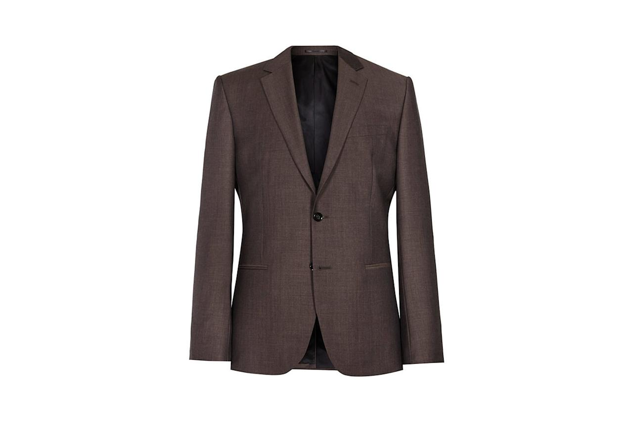 """<p><em>$620, buy now at <a rel=""""nofollow"""" href=""""https://www.reiss.com/us/p/single-breasted-wool-blazer-mens-hollidge-b-in-brown?category_id=1110&mbid=synd_yahoostyle"""">reiss.com</a></em></p>"""
