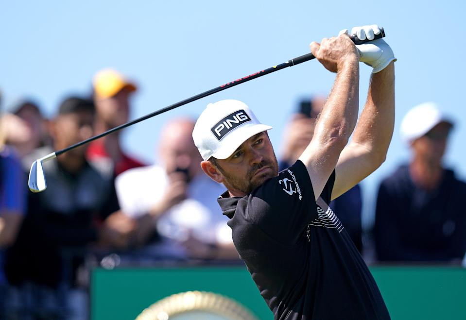 South Africa's Louis Oosthuizen set an Open record with a halfway total of 129 at Royal St George's (PA Wire)