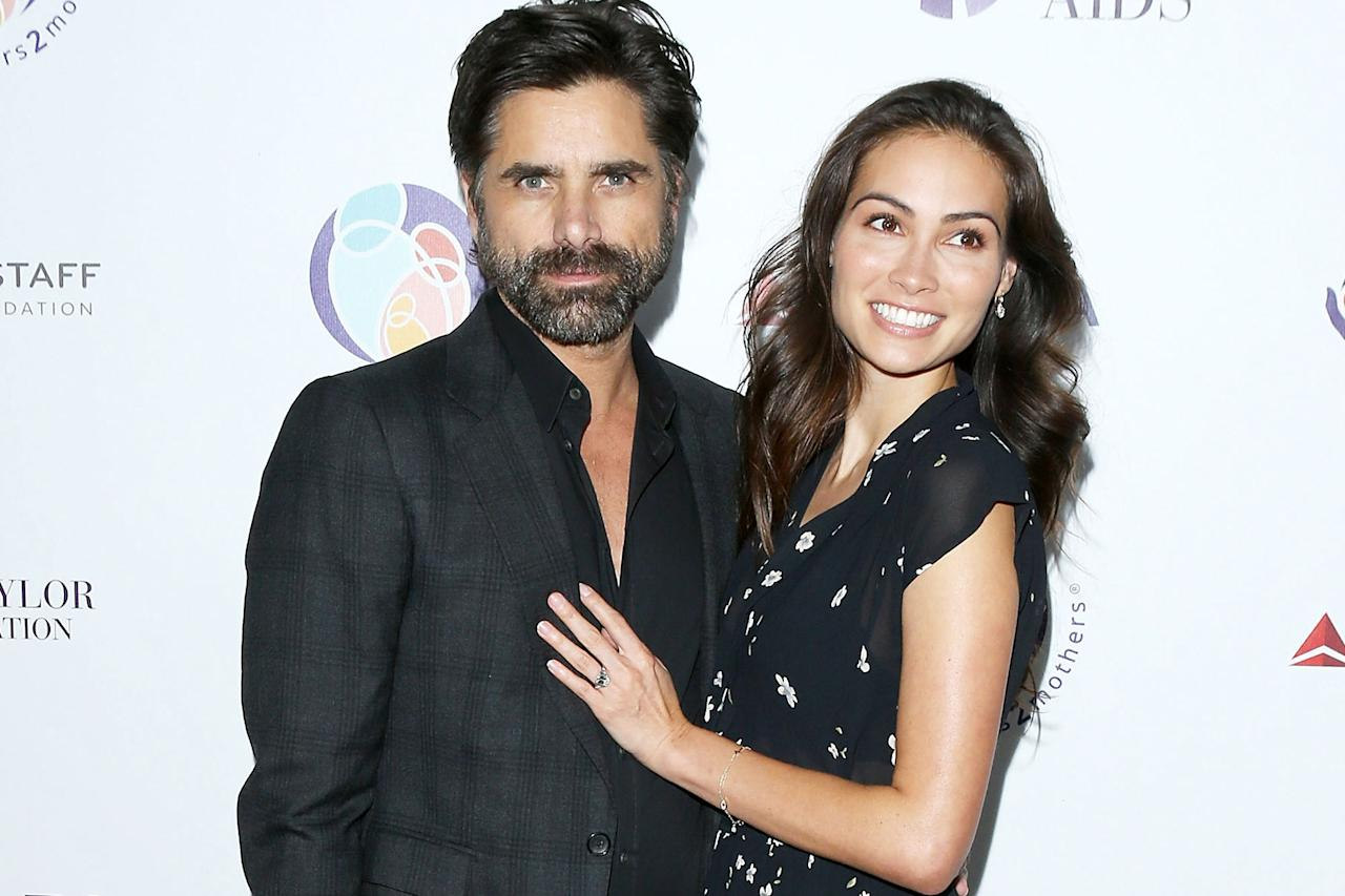 John Stamos Describes His Disneyland Proposal to Caitlin McHugh