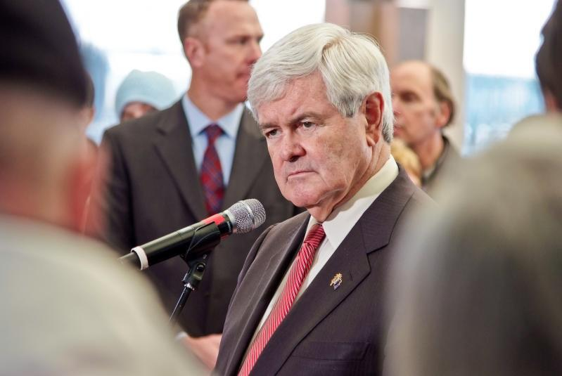 Newt Gingrich in South Carolina (Flickr/ E.R. Smith )