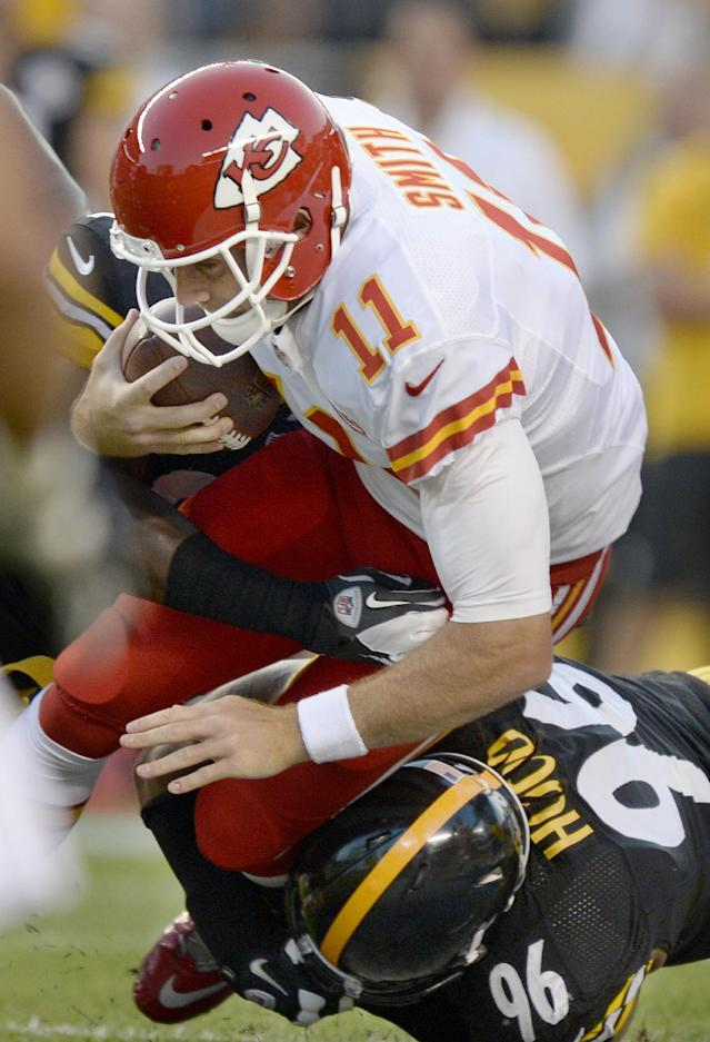Chiefs rally late, edge Steelers 26-20 in overtime