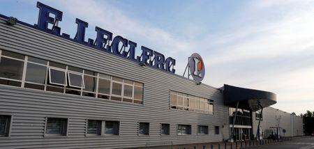 FILE PHOTO: A general view shows the Leclerc hypermarket in Brive-La-Gaillarde
