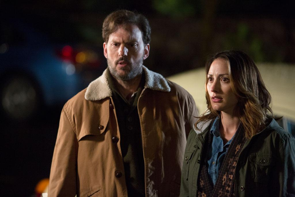 "Silas Weir Mitchell as Monroe and Bree Turner as Rosalee Calvert in the ""Grimm"" episode, ""The Kiss."""
