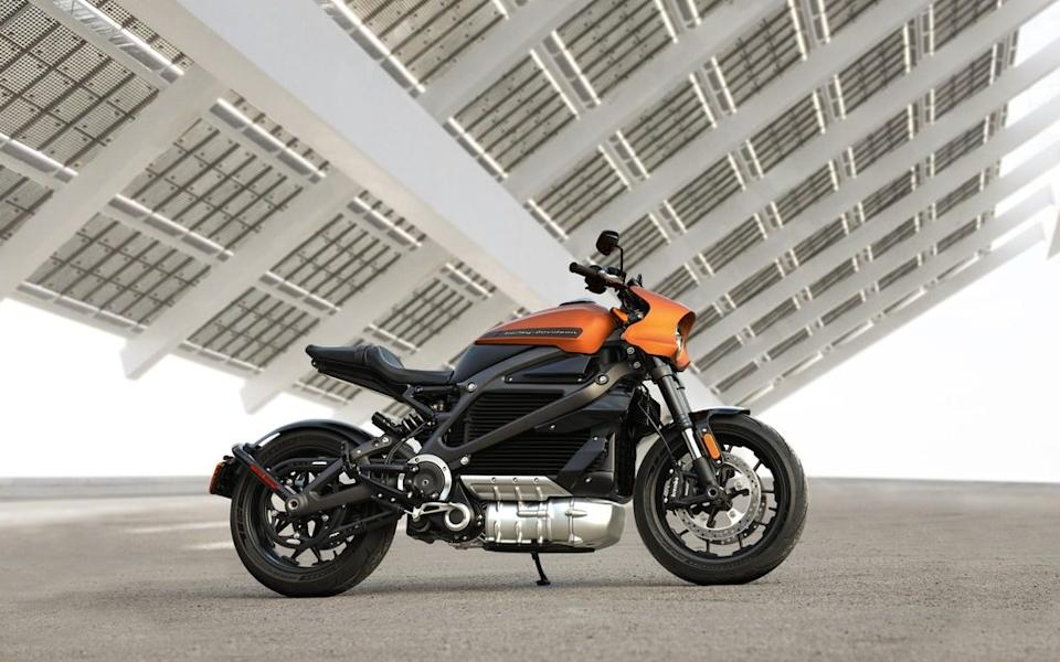 Harley Davidson's Livewire varies from the brand's traditional models
