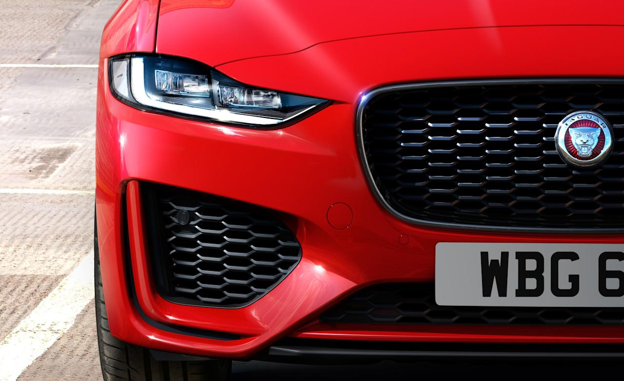 """<p>Before we discuss our impressions gleaned from driving <a href=""""https://www.caranddriver.com/jaguar/xe"""" target=""""_blank"""">the refreshed 2020 Jaguar XE</a>, it's worth pointing out that before the 2017 XE appeared, small sedans had never really been Jaguar's thing. Sure, sedans-<em>saloons</em> as the British call them-have buttered the bread in Coventry for most of Jaguar's 85-year history. But the only other Jaguar four-door built in size Small was the 2001 to 2009 X-Type, which we chiefly remember for its matronly styling and new-Ford smell. So, you're forgiven if the thought of Jaguar building a small, appealing sedan seems new, especially as the brand also now dabbles in building appealing crossovers and electric cars, which also haven't been its thing heretofore.</p>"""