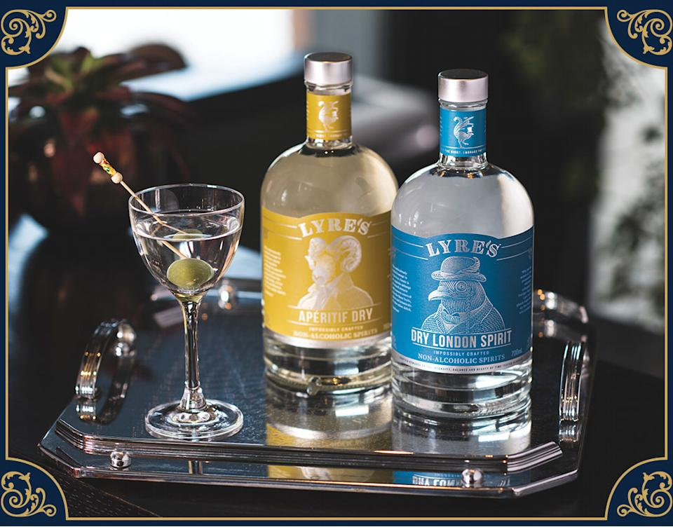 Lyre's Dirty Martini. (PHOTO: Lyre's)