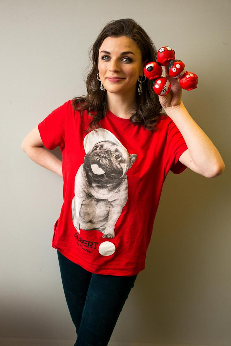 Fundraising: Aisling Bea is throwing her support behind Red Nose Day (Alex Lentati)