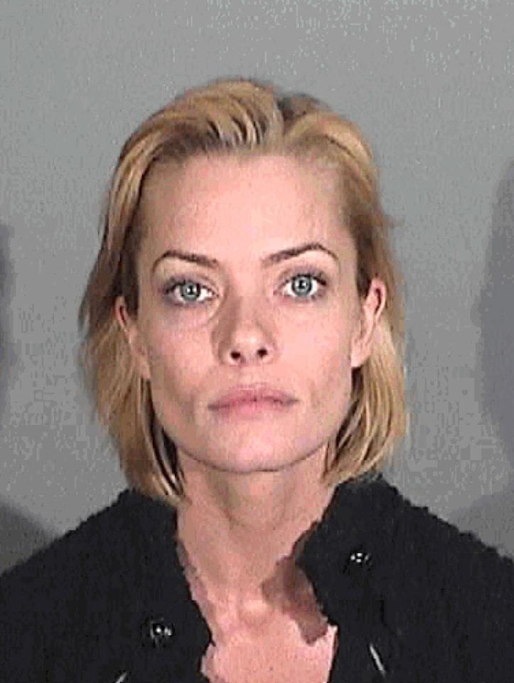 <b>Who:</b> Jaime Pressly <br><b>What:</b> Arrested for suspicion of DUI<br><b>Where:</b> Santa Monica, California<br><b>When:</b> January 6, 2011