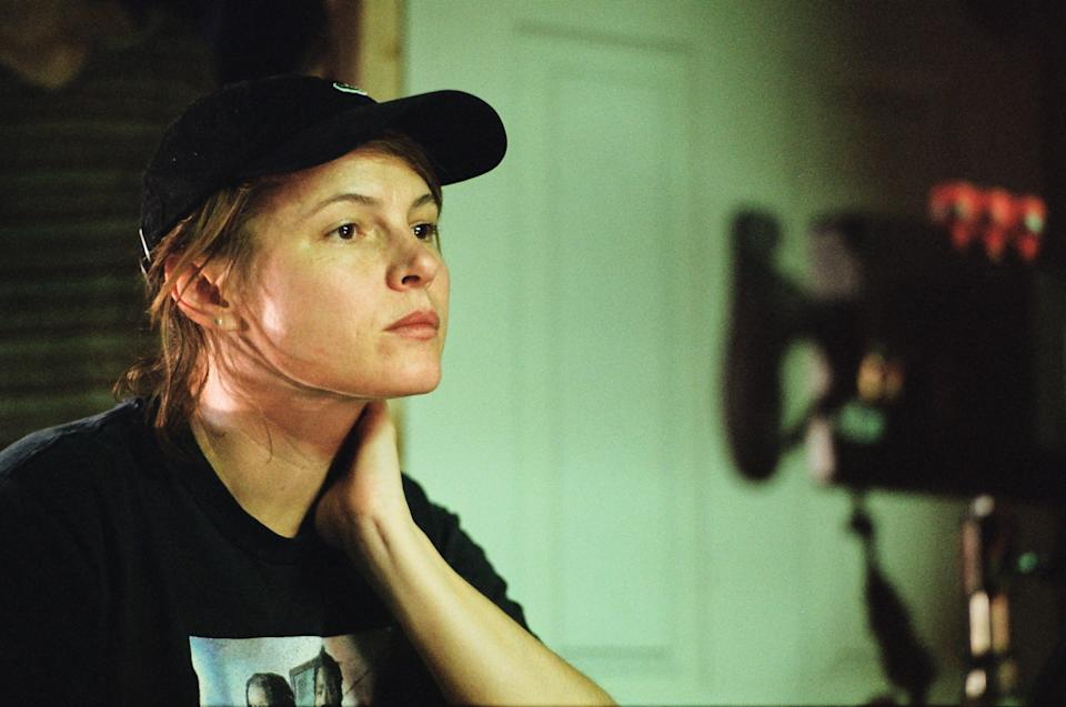 """Amy Seimetz's """"She Dies Tomorrow"""" is essentially about the filmmaker's anxiety, though it takes on a certain universal resonance amid COVID-19."""