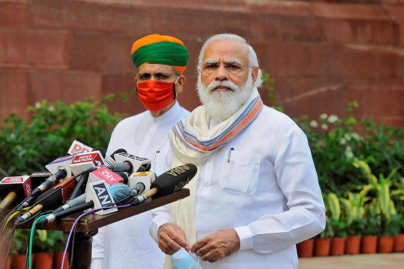 Modi pledges to use India vaccine-production capacity to help 'all humanity'