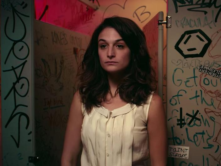 """Jenny Slate plays a comedian in """"Obvious Child."""""""
