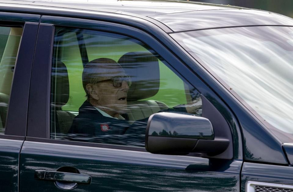 Prince Philip faced a police investigation over a car crash which injured two women. (PA)