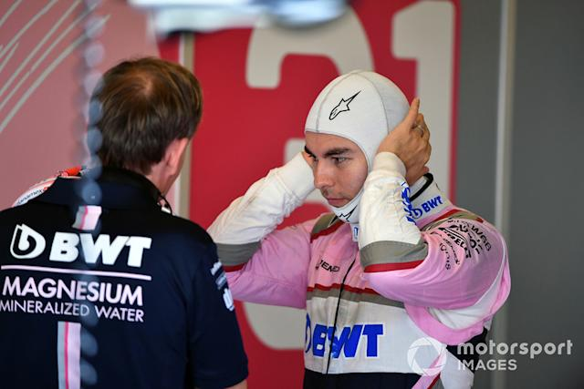 """Sergio Perez, Racing Point Force India <span class=""""copyright"""">Mark Sutton / Motorsport Images</span>"""