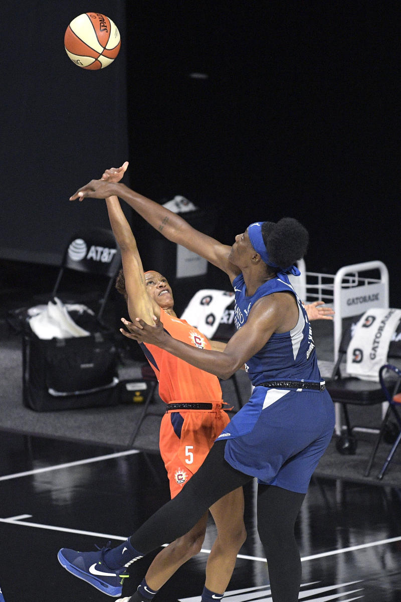 Fowles ready to become WNBA all-time rebound leader