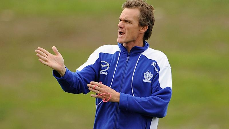 Dean Laidley, pictured here at a North Melbourne training session in 2009.