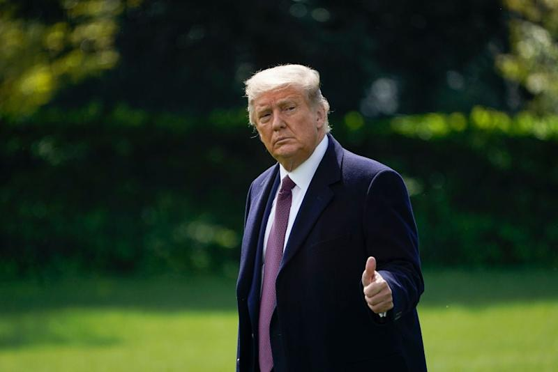 Trump has 'more energy than two 30-year-olds', claims campaign aide following positive Covid test