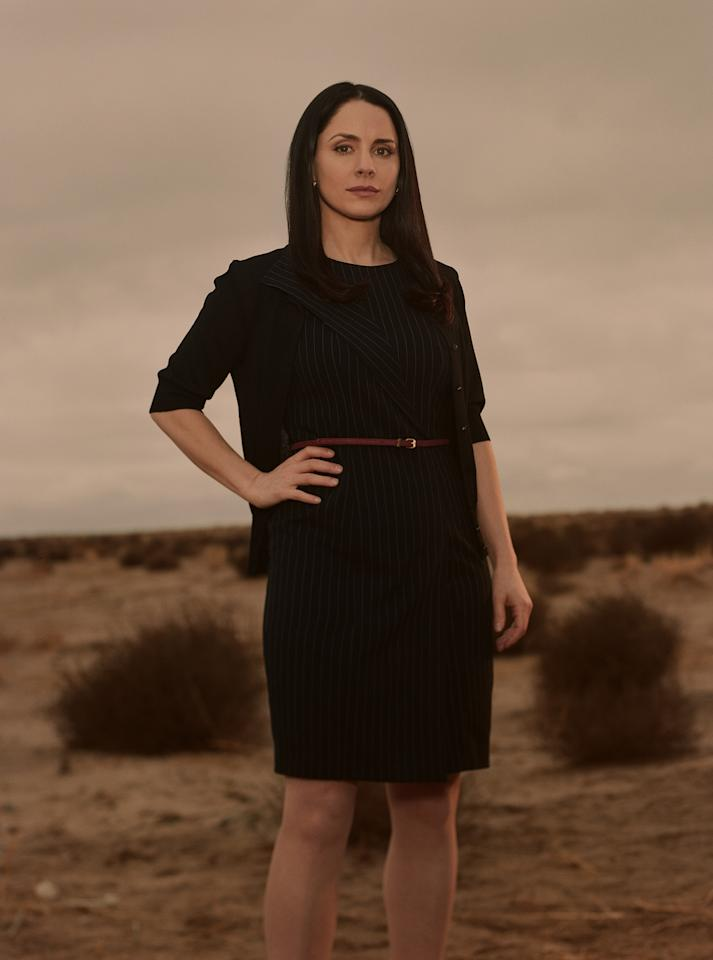 "Lydia (Laura Fraser) in ""Breaking Bad"" Season 5."