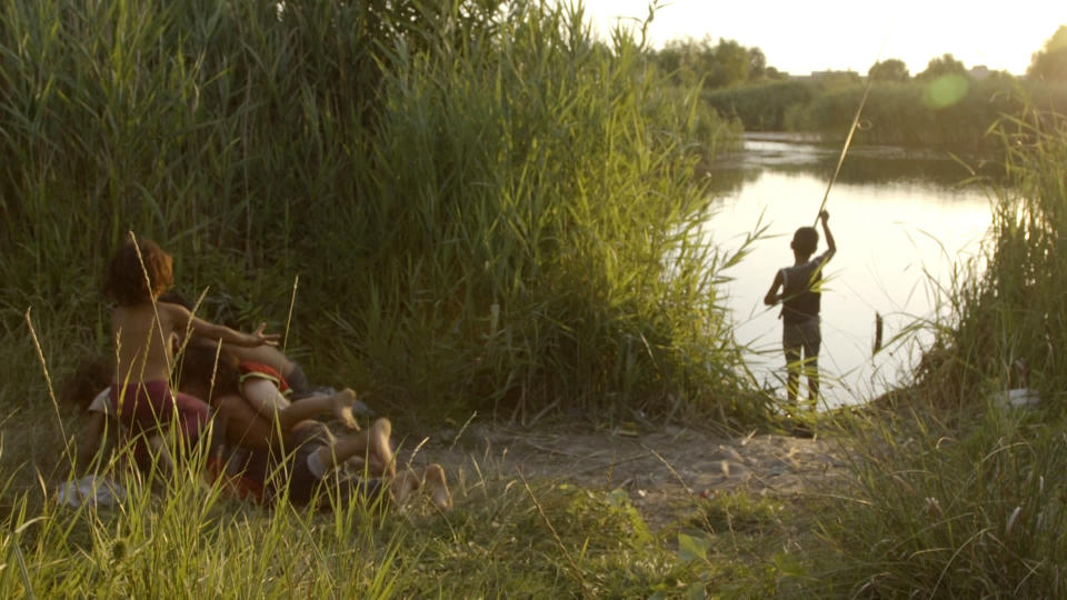 """This image released by Zeitgeist Films shows a scene from""""Acasa, My Home."""" (Zeitgeist Films/Kino Lorber via AP)"""