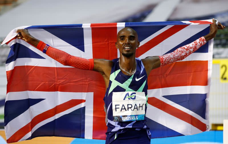 Athletics: Britain's Farah to race only 10,000m at Tokyo Olympics