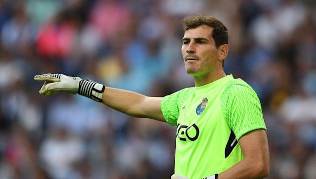 <p>Iker Casillas is regarded by many as one of the greatest goalkeepers ever and was placed second only to Gianluigi Buffon in the 2010 IFFHS Best Goalkeeper of the past quarter-century awards. </p> <br><p>Los Meringues' faithful dubbed him 'Saint Iker' during his time at the Bernabeu, due to his unerring ability to pull off sublime, match-saving stops. During his 510 La Liga appearances for Real Madrid, Casillas claimed five league titles and three Champions Leagues among a host of domestic gongs.</p>