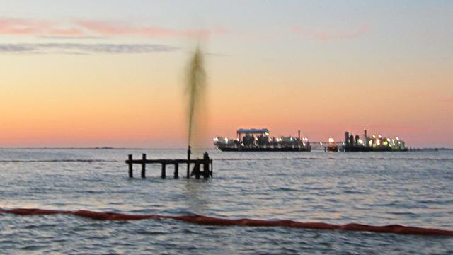 Coast Guard Responds to Oil Spill Off Louisiana Shore