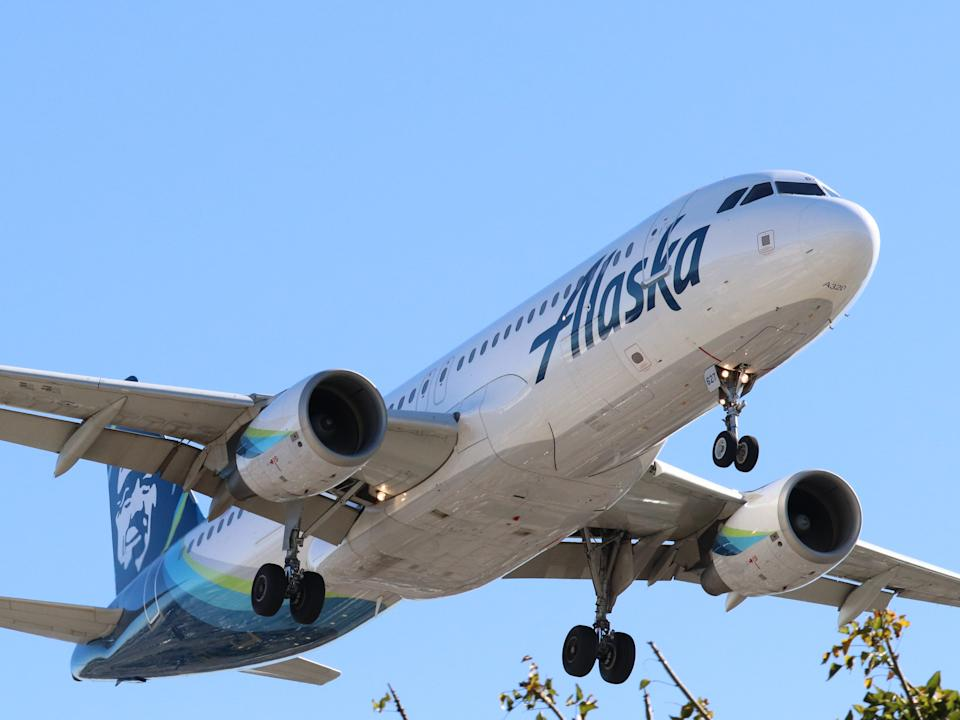 LAX Day Trip Alaska Airlines - Airbus A320