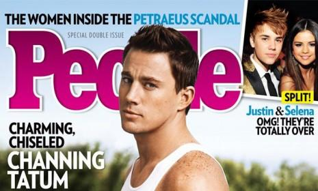 Channing Tatum: He's sexy and he knows it.
