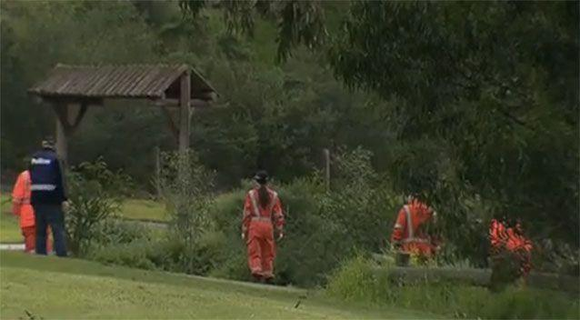 SES volunteers joined the search. Source: 7News