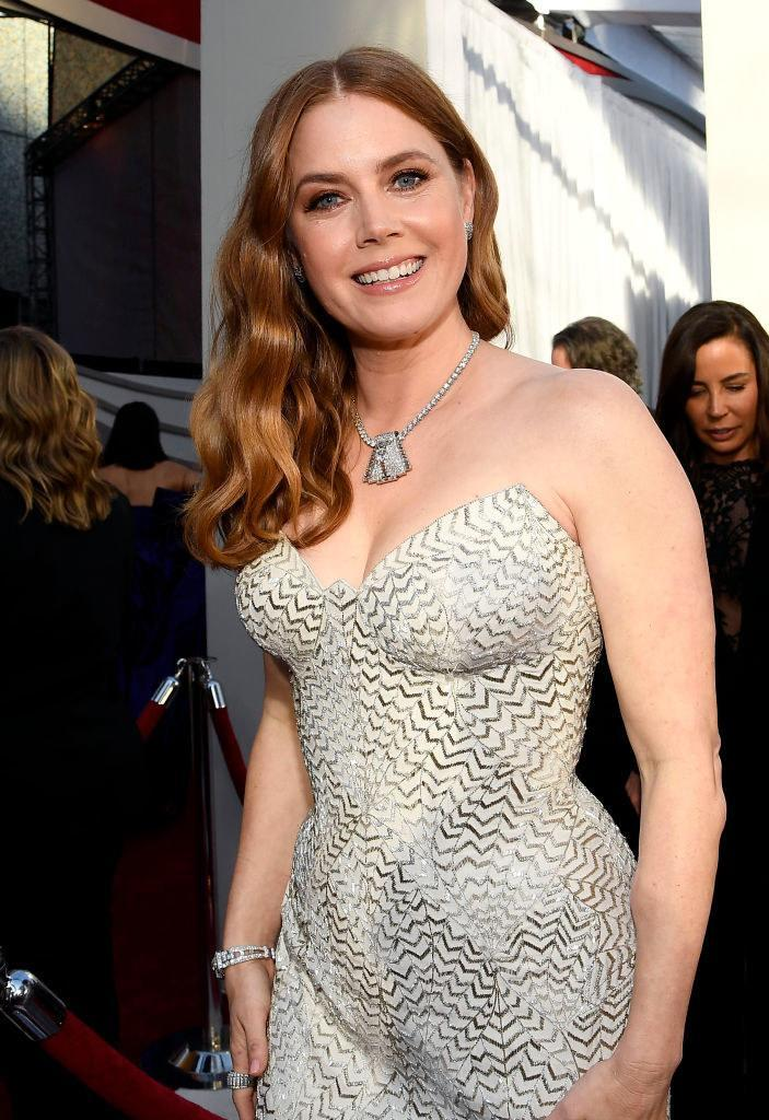 Amy Adams attends the 91st Annual Academy Awards