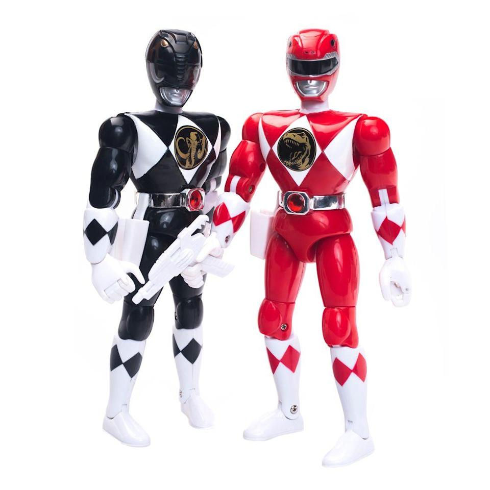 "<p><a class=""link rapid-noclick-resp"" href=""https://www.amazon.com/Collectible-Power-Rangers-Exclusive-Metallic/dp/B01NBRMCJA/ref=sr_1_5?tag=syn-yahoo-20&ascsubtag=%5Bartid%7C10063.g.34738490%5Bsrc%7Cyahoo-us"" rel=""nofollow noopener"" target=""_blank"" data-ylk=""slk:BUY NOW"">BUY NOW</a></p><p>One of the biggest '90s phenomenons was <em>Mighty Morphin Power Rangers</em>. They first appeared on American TV in 1993, and it was a huge success from the start. That year, action figures and other merchandise from the show were some of the most coveted toys of the year. The show went on for a total of three seasons and got its own movie in 1995. <br></p>"
