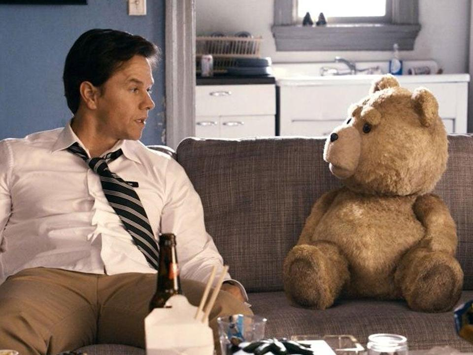 The sequel to 'Ted', starring Mark Wahlberg, is being removed from Netflix (Universal Pictures)