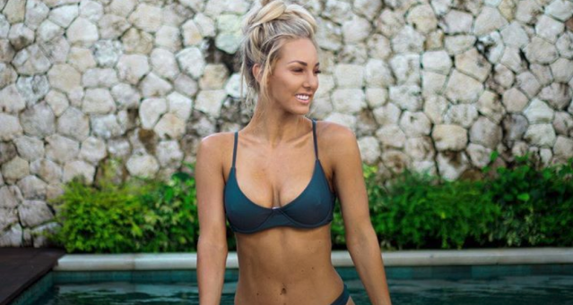 Ashy Bines is a controversial fitness blogger in Australia. (Photo: Instagram/ashybines)