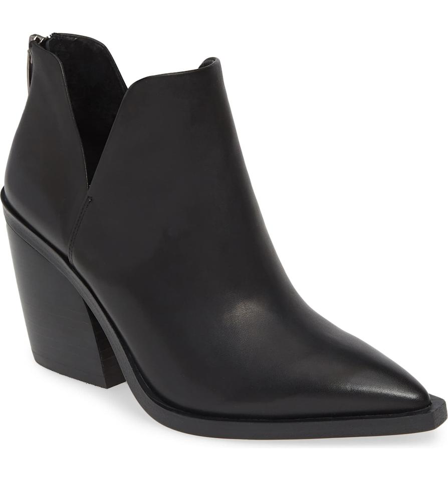 """<p>Stand out in these <a href=""""https://www.popsugar.com/buy/Vince%20Camuto%20Gigietta%20Booties-467406?p_name=Vince%20Camuto%20Gigietta%20Booties&retailer=shop.nordstrom.com&price=100&evar1=fab%3Aus&evar9=46371574&evar98=https%3A%2F%2Fwww.popsugar.com%2Ffashion%2Fphoto-gallery%2F46371574%2Fimage%2F46371612%2FVince-Camuto-Gigietta-Booties&list1=shopping%2Cnordstrom%2Cfall%20fashion%2Csales%2Cshoes%2Csale%20shopping%2Cnordstrom%20sale%2Cnordstrom%20anniversary%20sale&prop13=mobile&pdata=1"""" rel=""""nofollow"""" data-shoppable-link=""""1"""" target=""""_blank"""" class=""""ga-track"""" data-ga-category=""""Related"""" data-ga-label=""""https://shop.nordstrom.com/s/vince-camuto-gigietta-bootie-women/5244728?origin=category-personalizedsort&amp;breadcrumb=Home%2FAnniversary%20Sale%2FWomen%2FShoes&amp;color=mauve%20multi%20embossed%20leather"""" data-ga-action=""""In-Line Links"""">Vince Camuto Gigietta Booties</a> ($100, originally $150).</p>"""