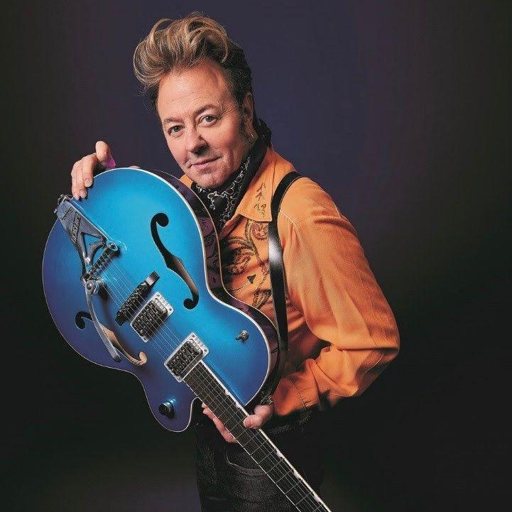 Brian Setzer diagnosed with severe tinnitus, cancels holiday tour
