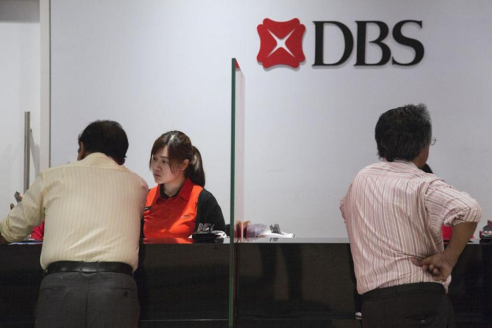 DBS has reported a surprise drop in third-quarter profit. (Photo: Getty Images/Bloomberg)