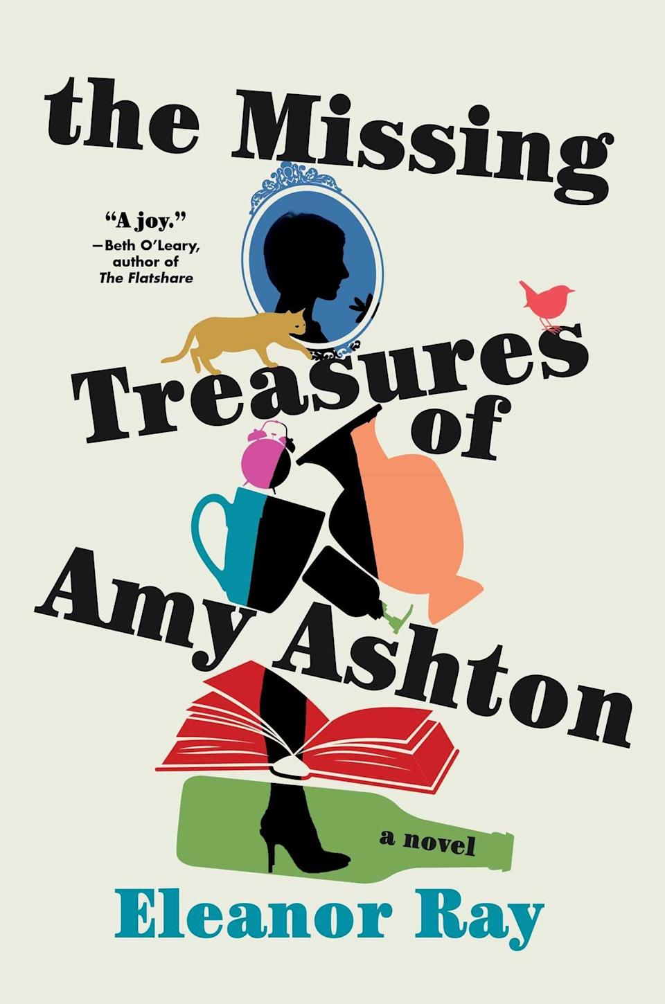 <p><span><strong>The Missing Treasures of Amy Ashton</strong></span> by Eleanor Ray is a bighearted novel about starting over after a tragedy. A heartbreaking event in her past left Amy more inclined to collect objects than to allow herself to open up to people. But when a little boy with his own passion for collecting moves in next door, Amy might finally find a way to open up her heart again. </p> <p><em>Out June 8</em></p>