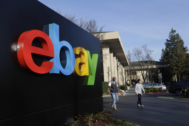Ebay gives all users a feedback rating which is useful for spotting the scammers (AP)