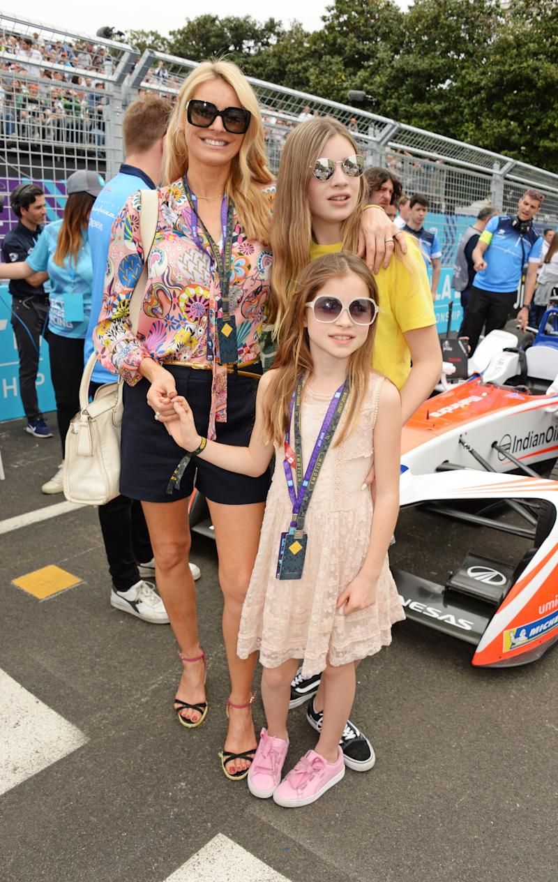 Tess with her daughters Phoebe and Amber. (Photo: David M. Benett via Getty Images)