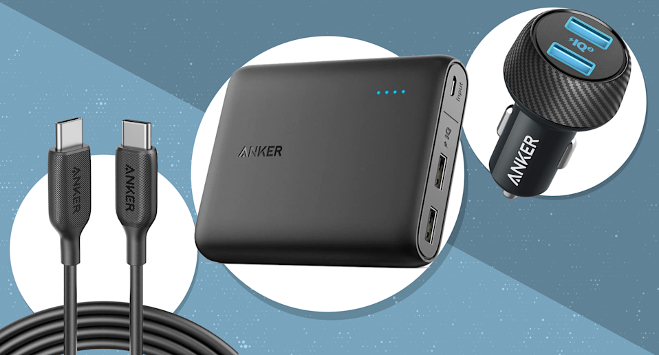 Amazon is having a major sale today on Anker, a leading brand in tech accessories. (Photo: Anker)