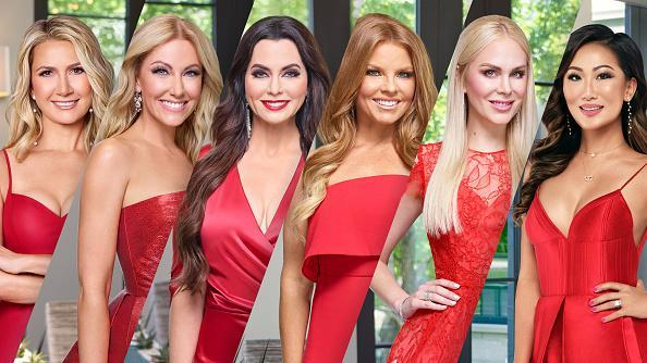 "The Real Housewives of Dallas Season 5 - Pictured: (l-r) Kary Brittingham, Stephanie Hollman, D'Andra Simmons, Brandi Redmond, Kameron Westcott, Tiffany Moon<span class=""copyright"">Tommy Garcia, Virginia Sherwood and Jonathan Zizzo—Bravo/NBCU Photo Bank/Getty Images</span>"