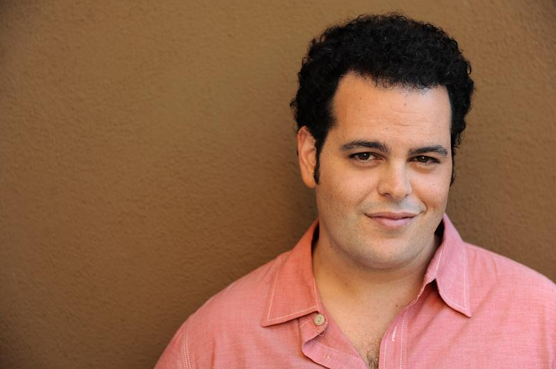 """FILE - In this Monday, Sept. 16, 2013 file photo, Josh Gad poses for a portrait at the Four Seasons Hotel, in Los Angeles. Gad has a spate of acting and writing projects in the works, including an upcoming TV show with Billy Crystal and starring role in a Sam Kinison biopic, plus """"Thanks for Sharing,"""" in theaters Friday, Sept. 20, 2013. (Photo by Jordan Strauss/Invision/AP, File)"""