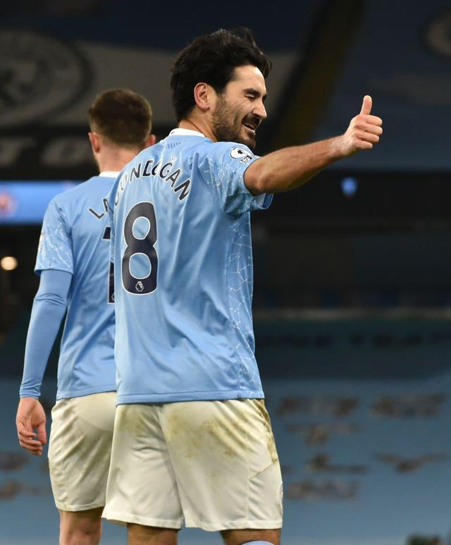 The performances of Ilkay Gundogan have been a key factor in City's success