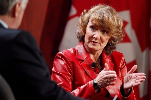 Liberal MP Karen McCrimmon chairs the House of Commons defence committee. (John Woods/THE CANADIAN PRESS - image credit)