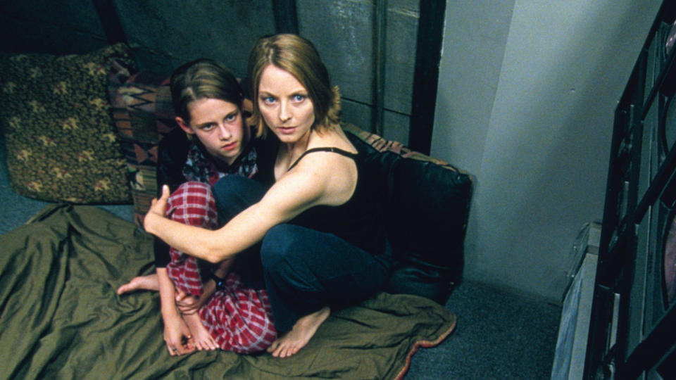 David Fincher delivered an impressive long take in thriller 'Panic Room'. (Credit: Sony)