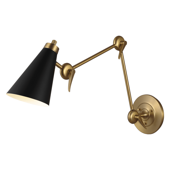"<p><strong>Generation Lighting</strong></p><p>circalighting.com</p><p><strong>$379.00</strong></p><p><a href=""https://www.circalighting.com/signoret-2---arm-library-sconce-tw1101/"" rel=""nofollow noopener"" target=""_blank"" data-ylk=""slk:Shop Now"" class=""link rapid-noclick-resp"">Shop Now</a></p><p>Cozy up with a good book any time of day with the light provided by a pair of these clean-lined library sconces. </p>"