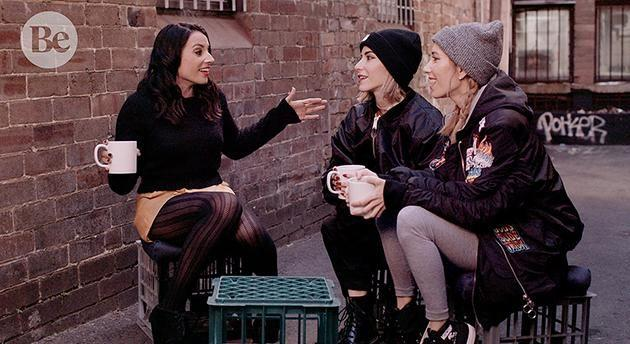 Maz Compton caught up with Jess and Lisa Origliasso. Image: Supplied