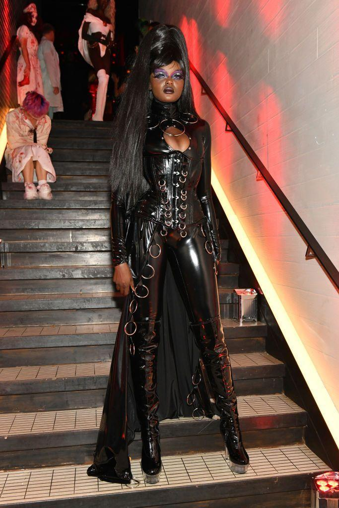 <p>Duckie Thot attends Heidi Klum's 20th Annual Halloween Party presented by Amazon Prime Video and SVEDKA Vodka at Cathédrale New York on October 31, 2019 in New York City.</p>