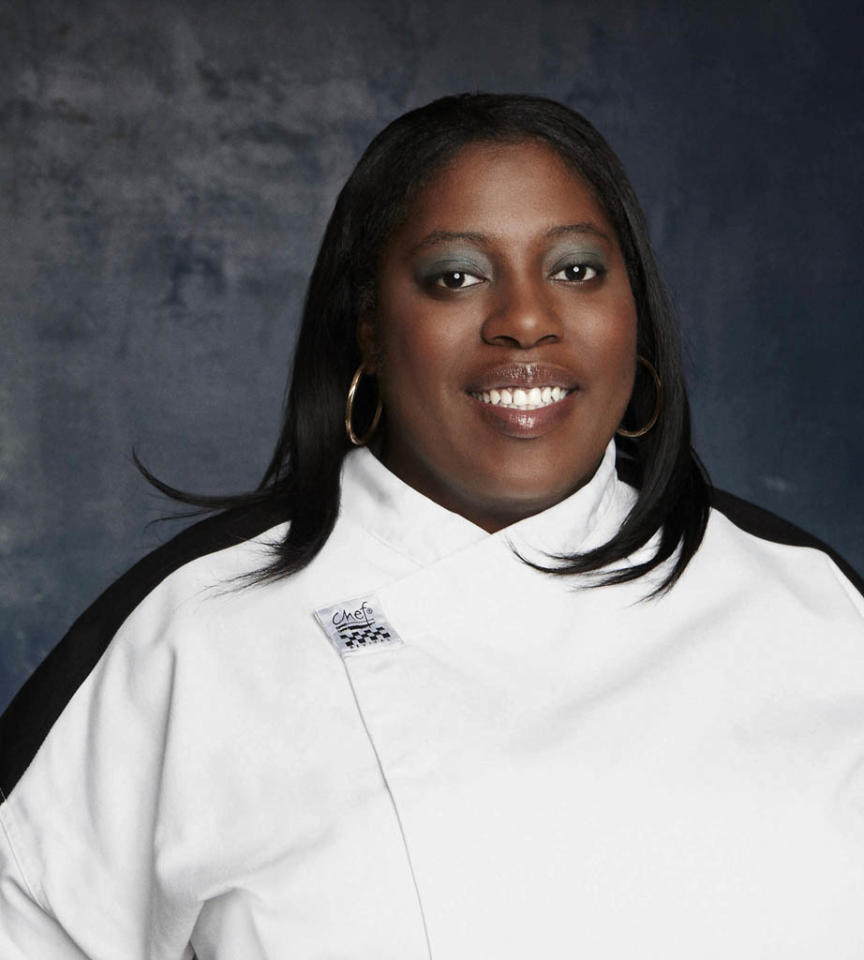 "Nedra Harris (Detroit, MI) is a contestant on Season 11 of ""Hell's Kitchen."""