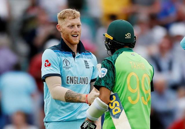 ICC Cricket World Cup - England v South Africa